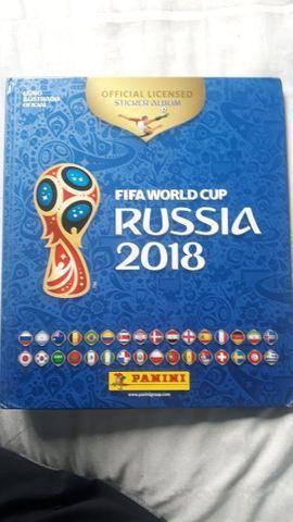 Album Copa Mundo Russia 2018 - Panini (Capa dura + Todas