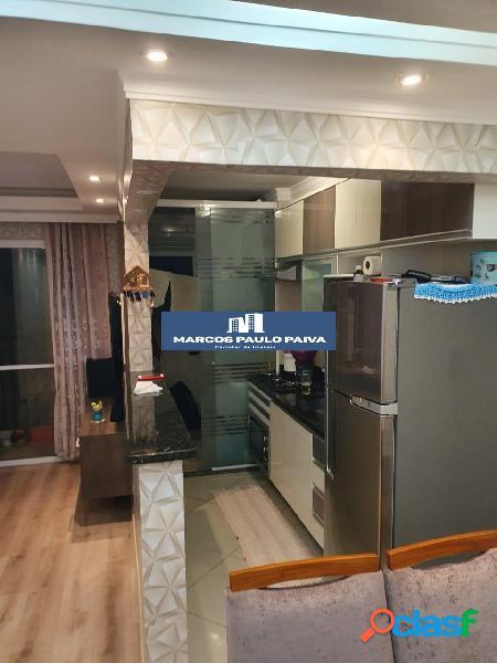 Apartamento em Guarulhos no Dream 54 mts 2 dorms 1 vaga na