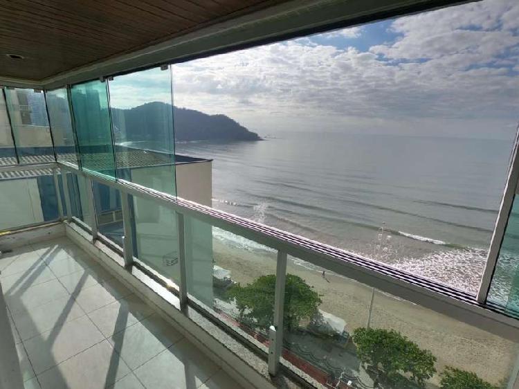 Apartamento frente mar, a venda, 3 dormitórios, vaga