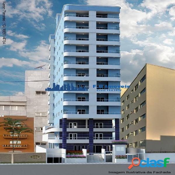 Apto financ direto construtora Vila Caiçara Praia Grande