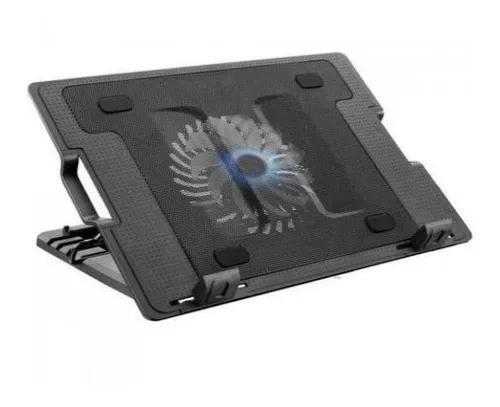 Base Com 1 Cooler Vertical Para Notebook Multilaser - Ac166