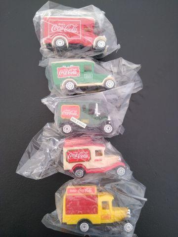 Caminhão Coca Cola - Coleção Completa