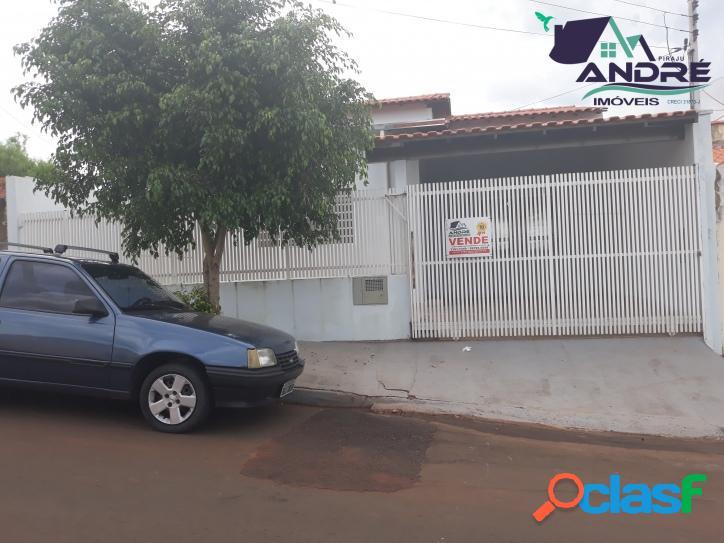 Casa, 2 dormitórios, 85m², Bairro Monte Belo, Piraju/SP.