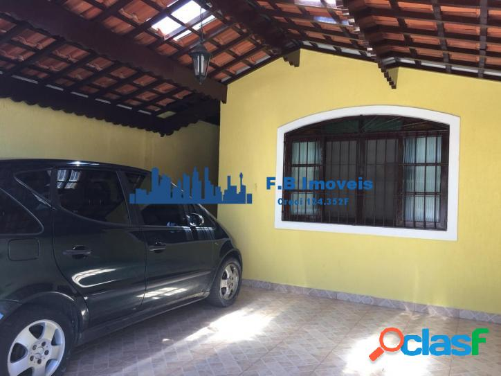 Casa Geminada 2dorm sendo 1suite Vila Caiçara Praia Grande