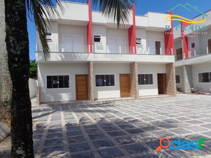 Casa Nova em Condomínio Fechado, Pertinho da Praia