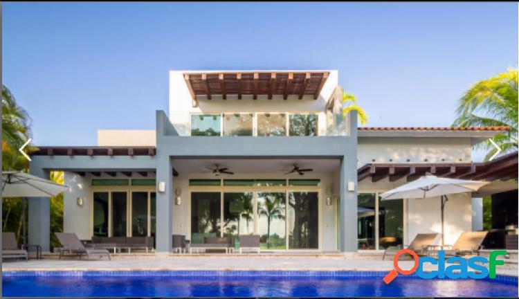 Casa Venados 149 El Tigre Nuevo Vallarta; rodeada de amplios