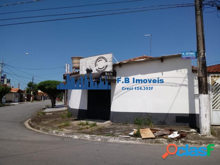 Casa c/ comércio 2dorm Vila Caiçara praia Grande