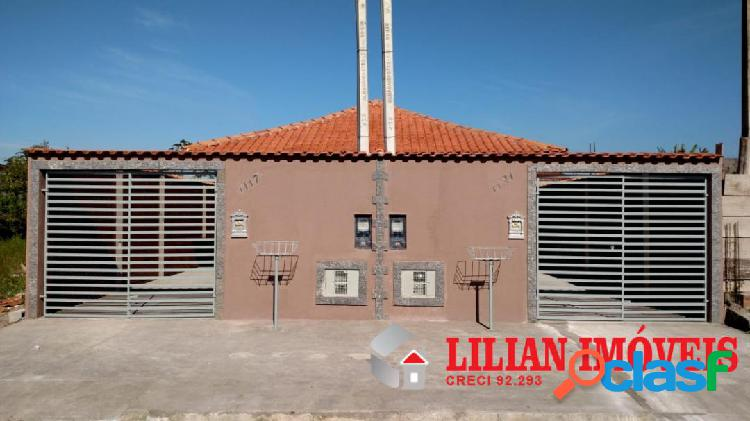 Casa nova pronta para morar / Mongaguá