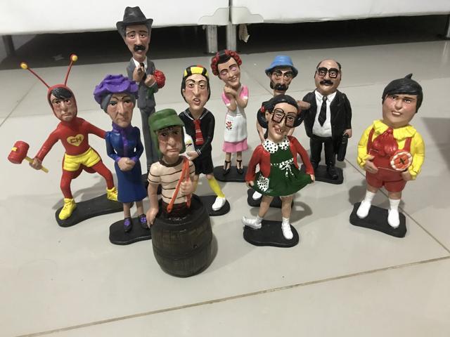 Coleção de bonecos