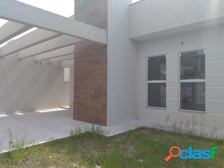 Linda casa nova, térrea para venda - Parque Santa Izabel