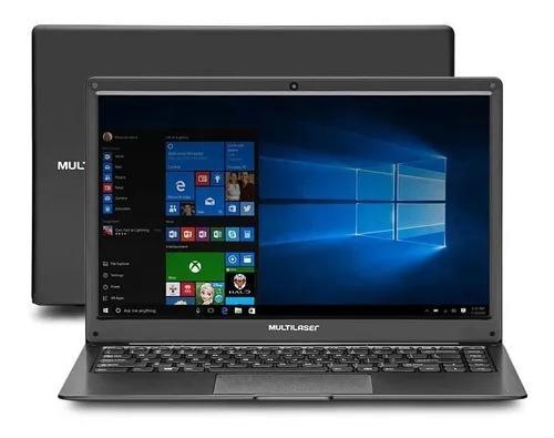 Notebook Multilaser Legacy Cloud Amd Windows 10 Preto - Pc1