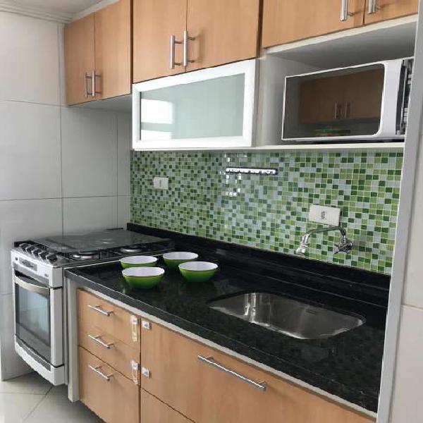 Tiradentes apartamento com 2 dormitórios SEMI MOBILIADO - S