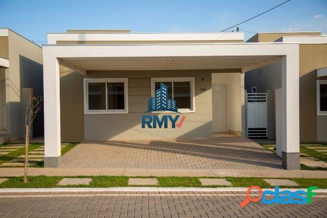 Vendo casa nova no Condomínio Iguatemi Residence em