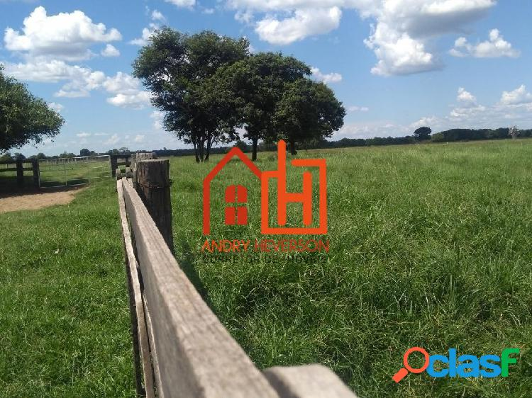 Vendo área de pecuária á 40 km de Barra do Bugres. Valor: