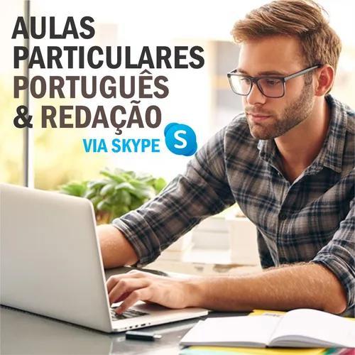Aulas Particulares - Português E Redação (via Skype)