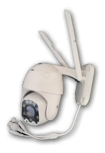 Camera Color Ip Wifi 1080p Dome Resist. Agua Visão Noturna