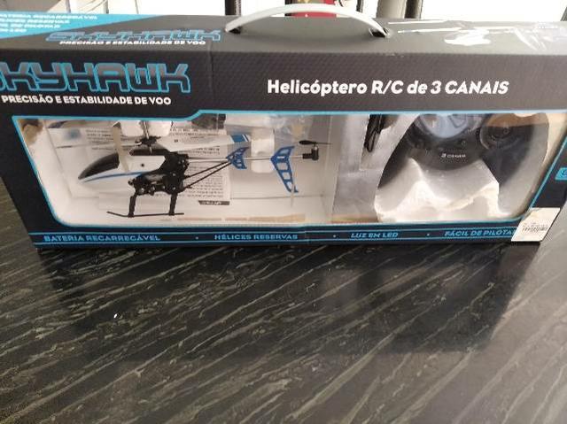 Helicóptero de controle