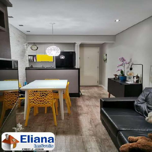 Lindo apartamento 48 m² - 2 dormitórios - Santa Maria