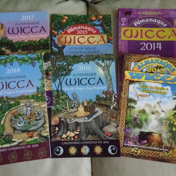 almanaque wicca - de 2013 à 2018