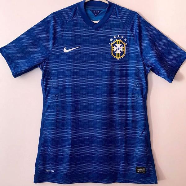 camisa seleção brasileira copa 2014 jogador