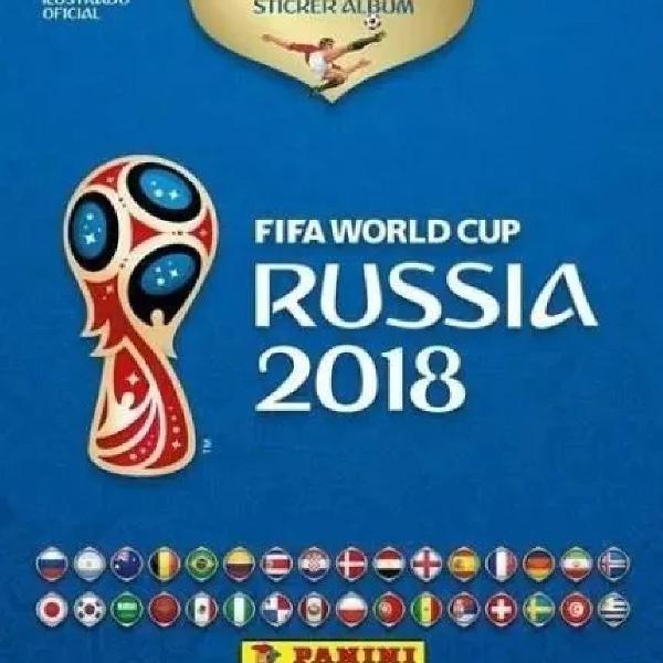 lbum e figurinhas Copa Mundo 2018