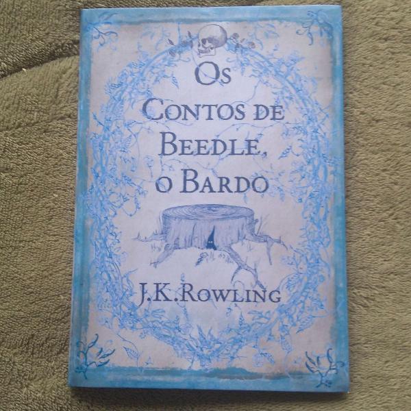 livro Contos de Beedle o Bardo, de JK Rowling