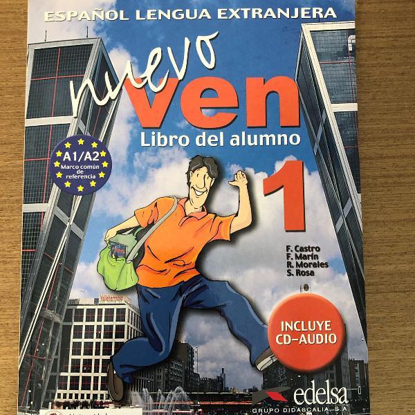 livro de espanhol nuevo ven 1