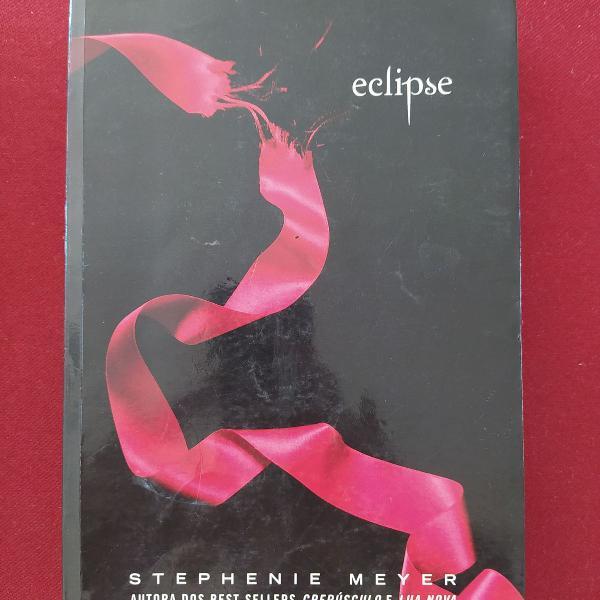 livro eclipse - terceiro livro da série crepúsculo