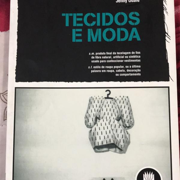 livro tecidos e moda