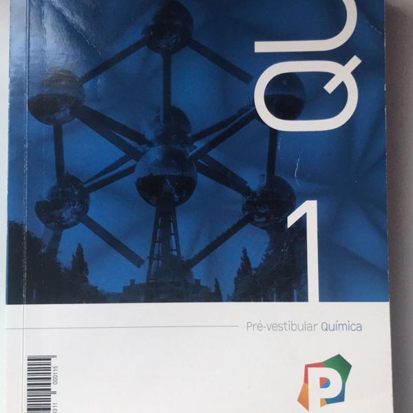 livros pré vestibular química poliedro