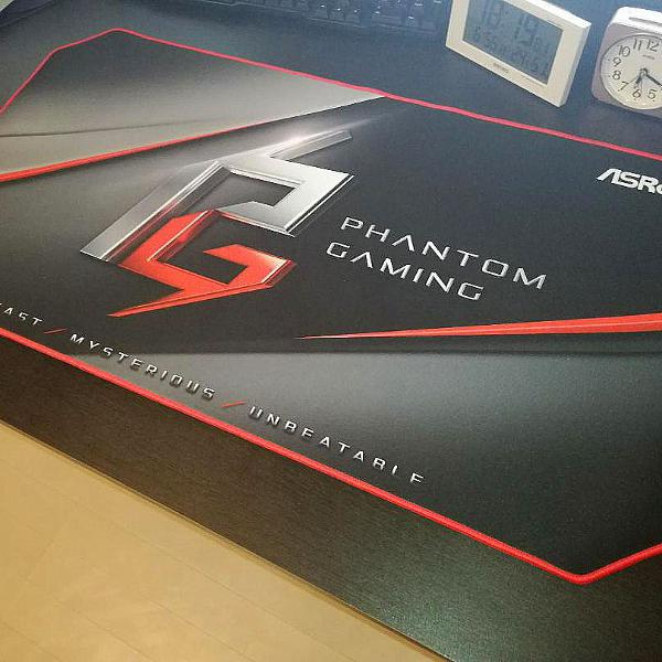 mouse pad gamer asrock phantom gaming extended original -