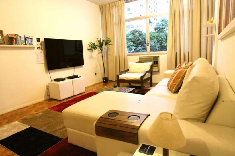 Apartamento para aluguel com 100 m² com 2 quartos em