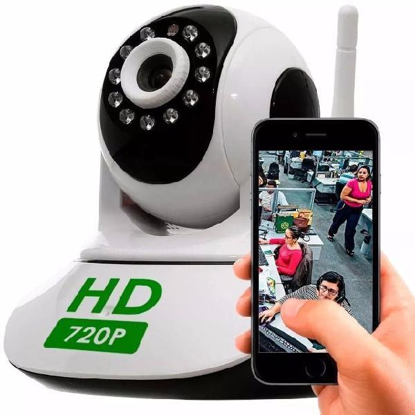 Camera Ip Wifi + Cartão de Memoria 32gb