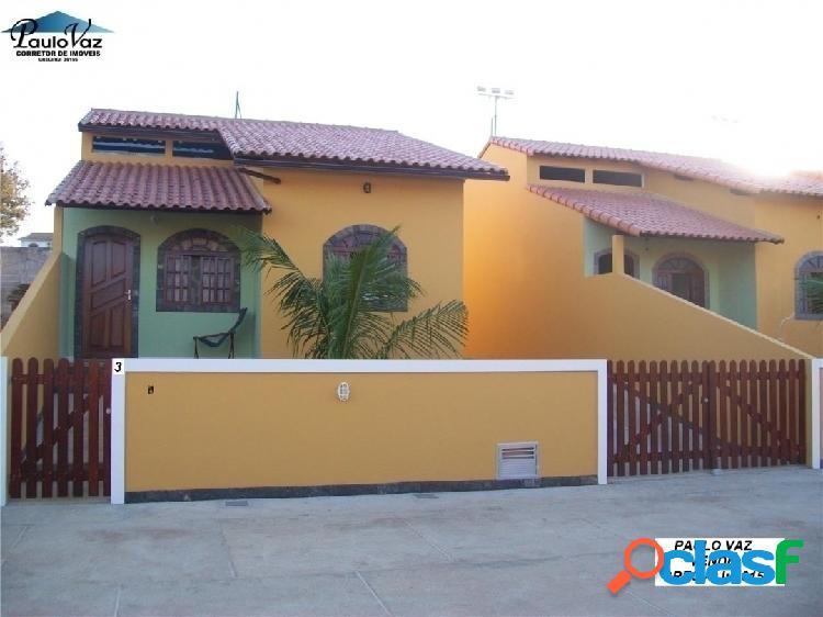 Casa Seminova em Araruama RJ Praia do Hospício 3 qts 1