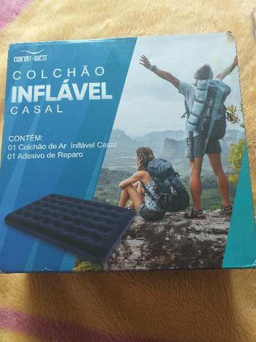 Colchão inflável Casal Novinho