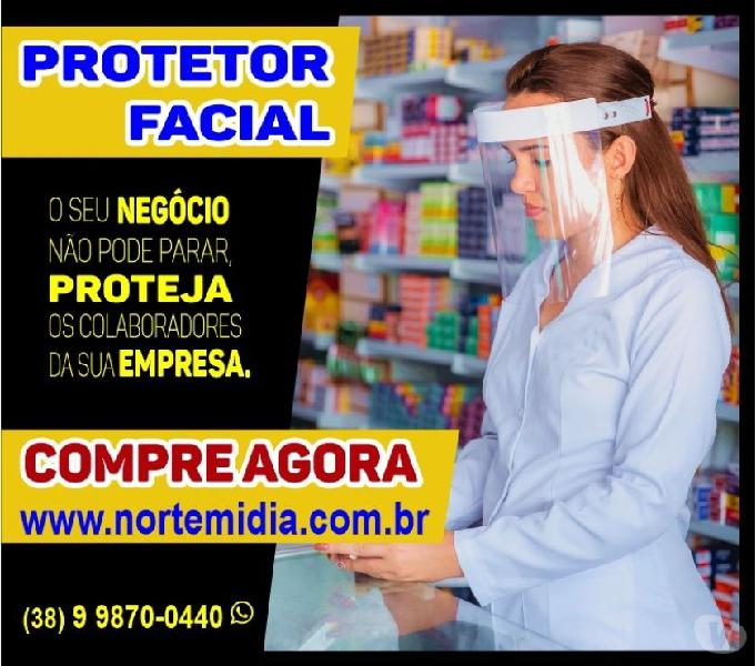 KIT 100 UN Máscara de Proteção Facial Individual Ultramax