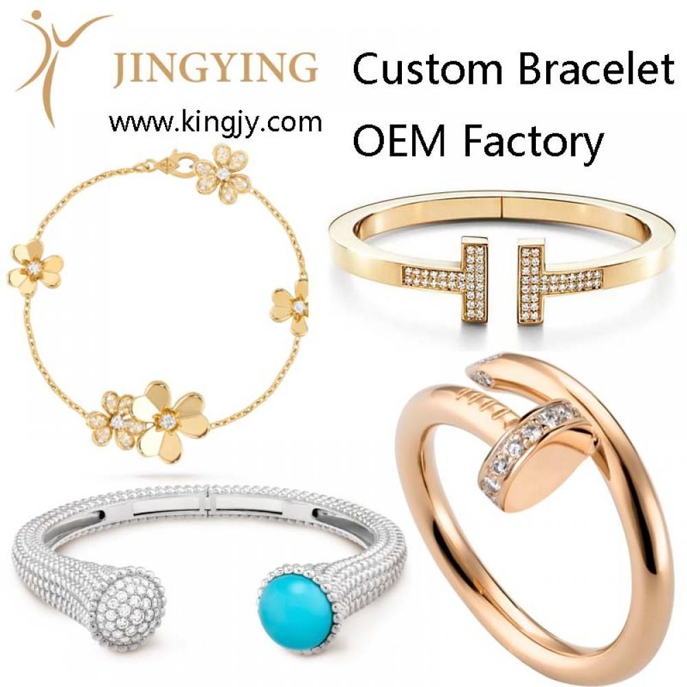 Oem jewelry 925 sterling silver rings factory