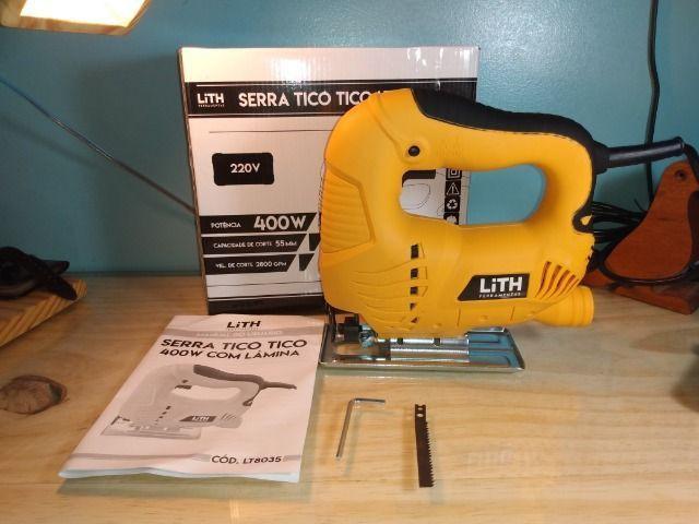 Serra Tico Tico 400W Lith + Lâmina [Produto Novo]