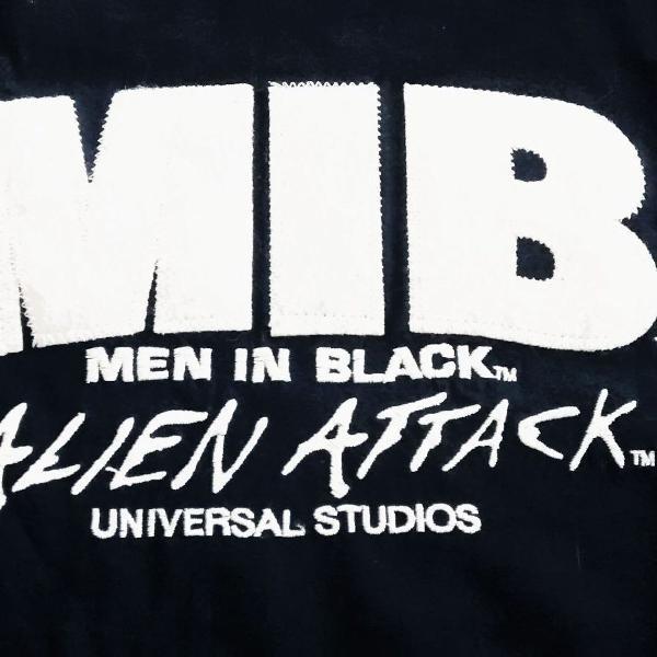 camiseta mib homens de preto universal studios