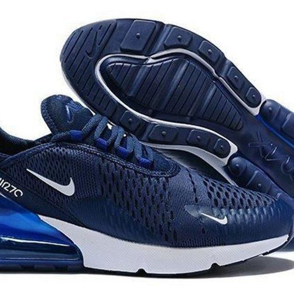 tênis nike air ma 270 azul (tam35) - promoção imperdível
