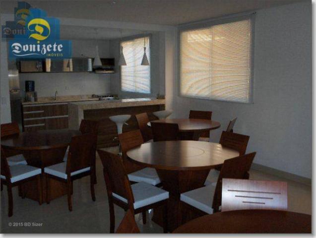 Apartamento com 3 dormitórios à venda, 91 m² por R$