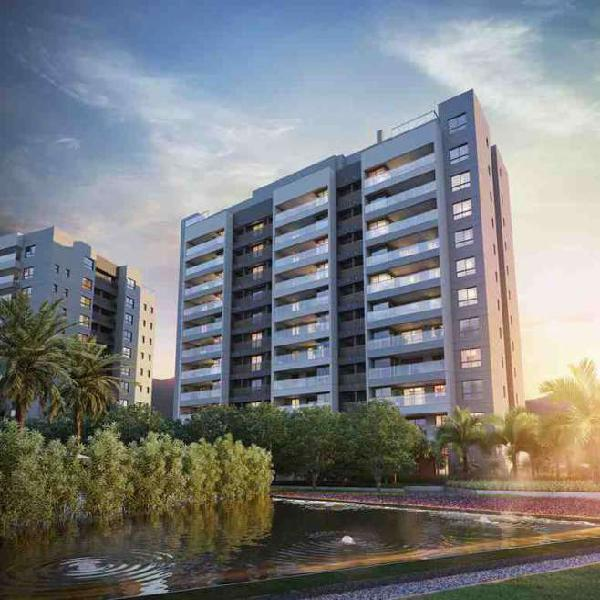 Apartamento de 3 quartos com dependência completa na Barra