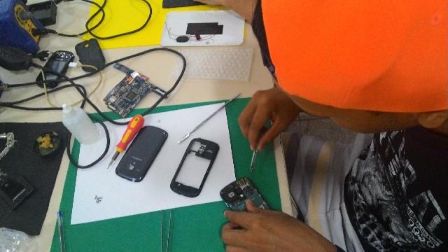 Curso manutenção de celulares em curitiba