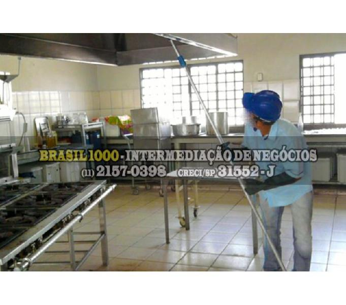 Empresa Limpeza de Coifas, Santo André, SP. (Cód. 6545)