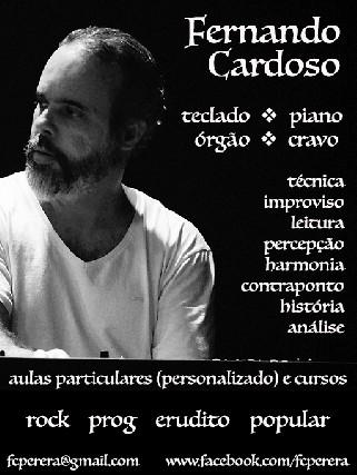 Fernando Cardoso - aulas piano e teclado - Butantã