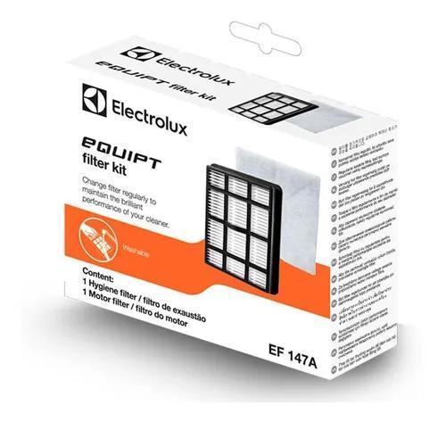 Kit Electrolux Filtro Hepa Para Aspirador De Pó - Ef147a