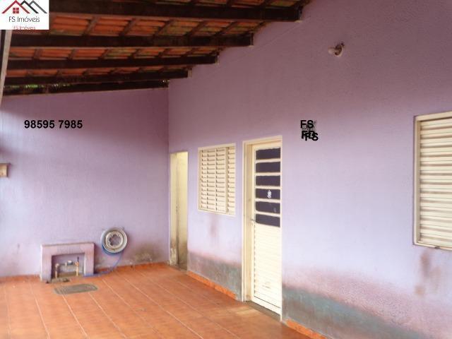QR 206 Ótima Casa na Laje 3 Quartos Lote 150 M² Fundos BRB