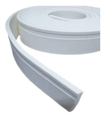 Roda Pé Eva Flexível 5cm X 1cm - 30 Metros - Rp04 + Brinde