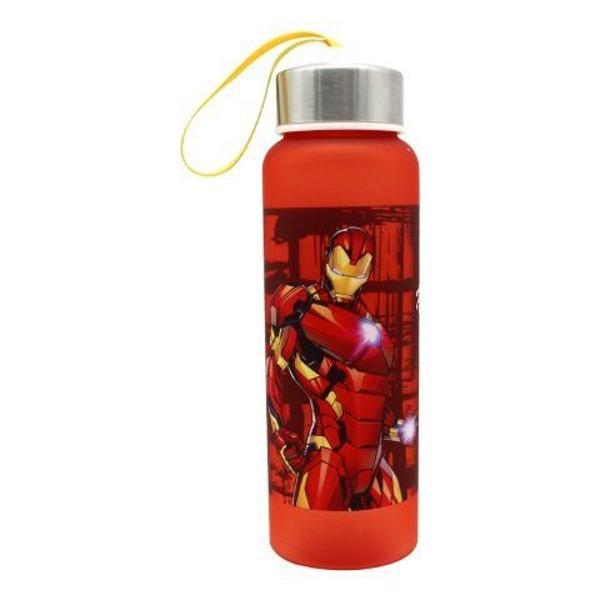 garrafa com alça homem de ferro - marvel produto oficial