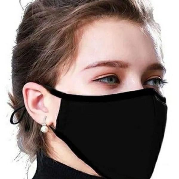 10 Máscaras proteção respiratória lavavel, dupla camada